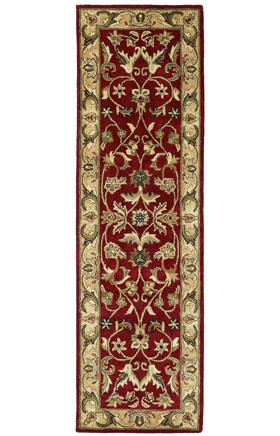 Traditional Kaleen Rugs Mystic Red 12823