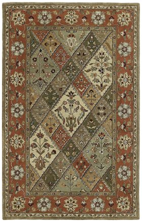 Traditional Kaleen Rugs Mystic Brown 12825