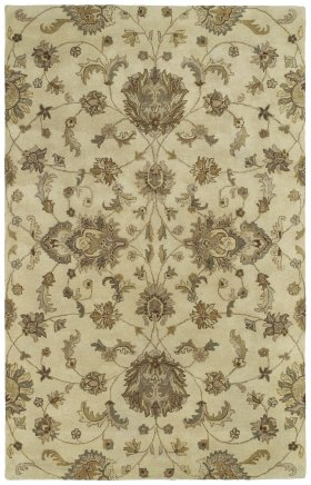 Traditional Kaleen Rugs Mystic Ivory 12827
