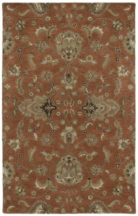 Traditional Kaleen Rugs Mystic Orange 12828