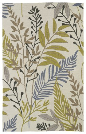Transitional Kaleen Rugs Home and Porch Ivory 12857