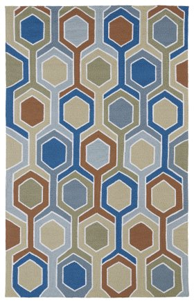 Contemporary Kaleen Rugs Home and Porch Beige 12860
