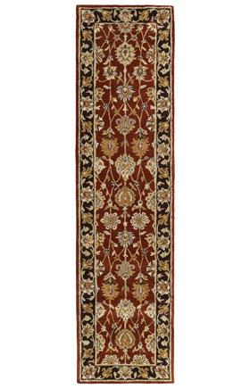 Traditional Kaleen Rugs Heirloom Collection Burgundy 12929