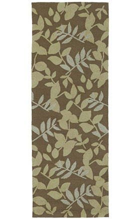 Transitional Kaleen Rugs Home and Porch Brown  12943