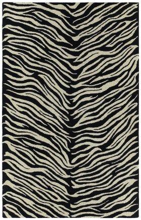 Animal Print Kaleen Rugs Khazana Ivory 12964