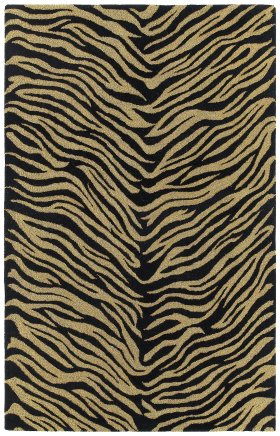 Animal Print Kaleen Rugs Khazana Grey 12965
