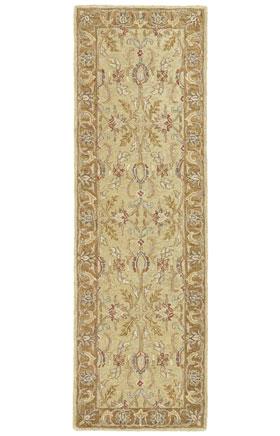 Traditional Kaleen Rugs Solomon Gold  13009
