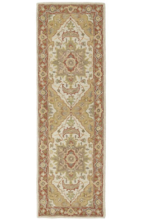 Traditional Kaleen Rugs Solomon Gold  13010