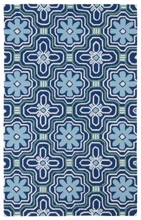 Transitional Kaleen Rugs Matira Blue 13080