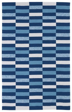 Contemporary Kaleen Rugs Matira Blue 13084
