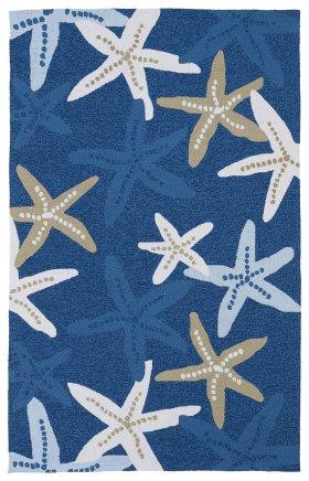 Contemporary Kaleen Rugs Matira Blue 13085