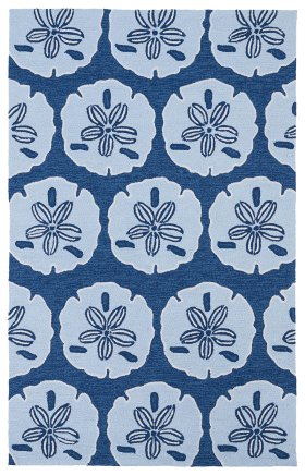 Contemporary Kaleen Rugs Matira Blue 13087