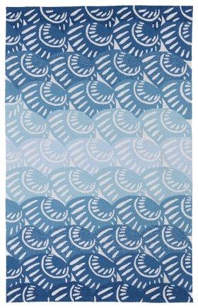 Transitional Kaleen Rugs Matira Blue 13092