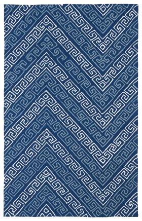 Transitional Kaleen Rugs Matira Blue 13093