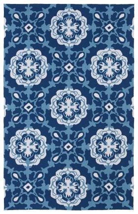 Contemporary Kaleen Rugs Matira Blue 13096