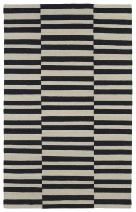 Transitional Kaleen Rugs Nomad Black 13097