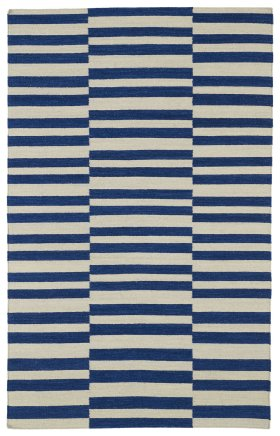 Contemporary Kaleen Rugs Nomad Blue 13098