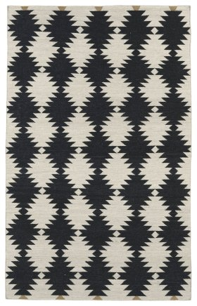 Transitional Kaleen Rugs Nomad Black 13100