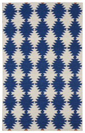Transitional Kaleen Rugs Nomad Blue 13101