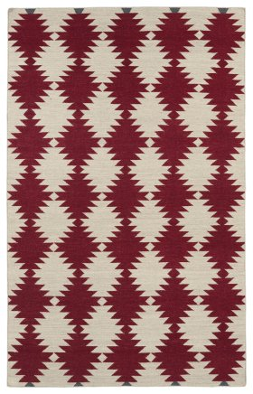 Transitional Kaleen Rugs Nomad Red 13102