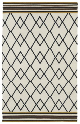 Transitional Kaleen Rugs Nomad Black 13104