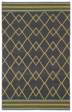 Transitional Kaleen Rugs Nomad Black 13105