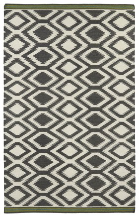 Transitional Kaleen Rugs Nomad Grey 13107