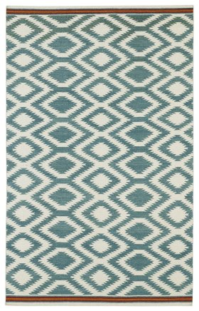 Transitional Kaleen Rugs Nomad Blue 13108
