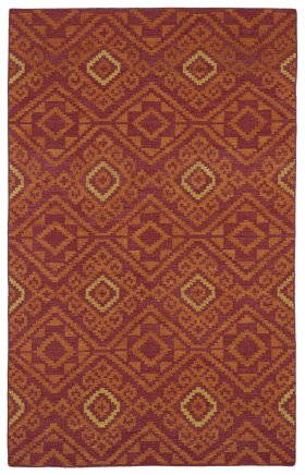Transitional Kaleen Rugs Nomad Red 13110