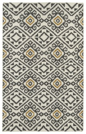 Transitional Kaleen Rugs Nomad Grey 13111