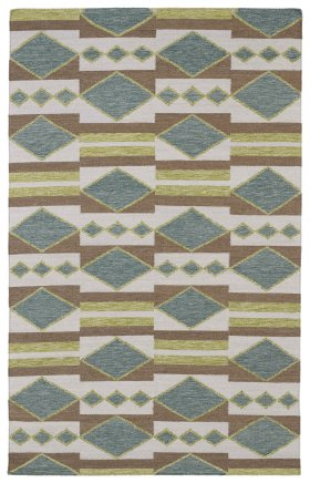 Transitional Kaleen Rugs Nomad Green 13117