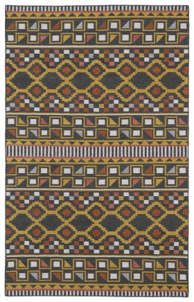 Transitional Kaleen Rugs Nomad Grey 13119