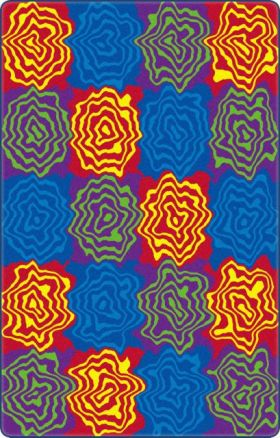 Kids Flagship Rugs Wobble-Blocks Multicolor  13167
