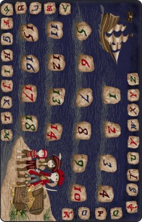 Kids Flagship Rugs Jolly-Roger-Tranquility Blue  13178