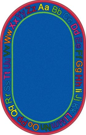 Kids Flagship Rugs Know-Your-Abcs Blue  13179