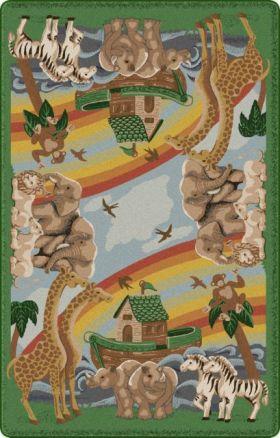 Kids Flagship Rugs Noahs-Journey Green  13188