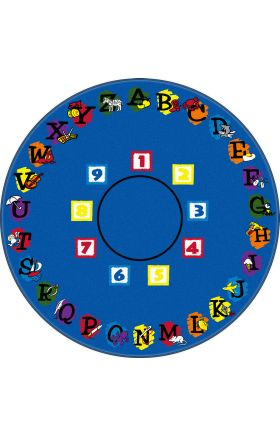 Kids Flagship Rugs Super-Circle Blue  13193