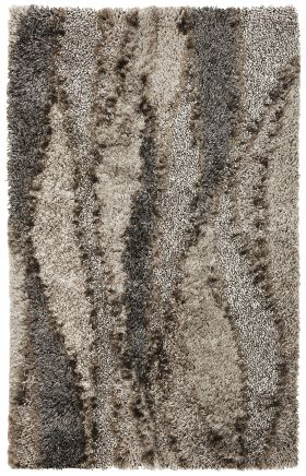 Kas Shag Rugs Optic Brown 13318