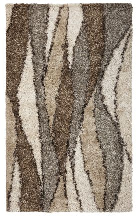 Kas Shag Rugs Optic Ivory 13319
