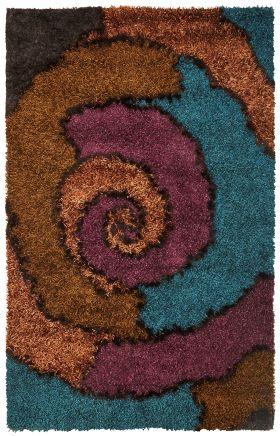 Kas Shag Rugs Optic Multicolor 13321