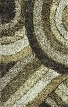 Kas Shag Rugs Optic Green 13324