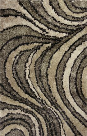 Kas Shag Rugs Optic Beige 13325