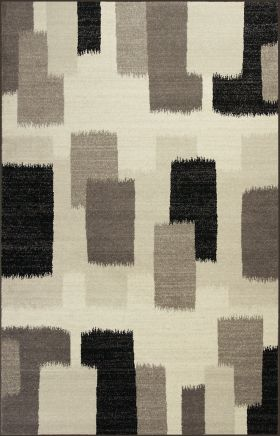 Kas Contemporary Rugs Reflections Ivory 13336