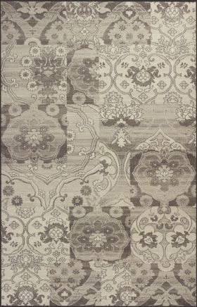 Kas Transitional Rugs Reflections Grey 13340
