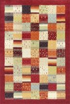 Kas Transitional Rugs Reflections Red 13341