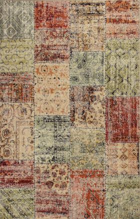 Kas Contemporary Rugs Reflections Multicolor 13342