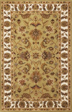 Kas Traditional Rugs Sonal Green 13345