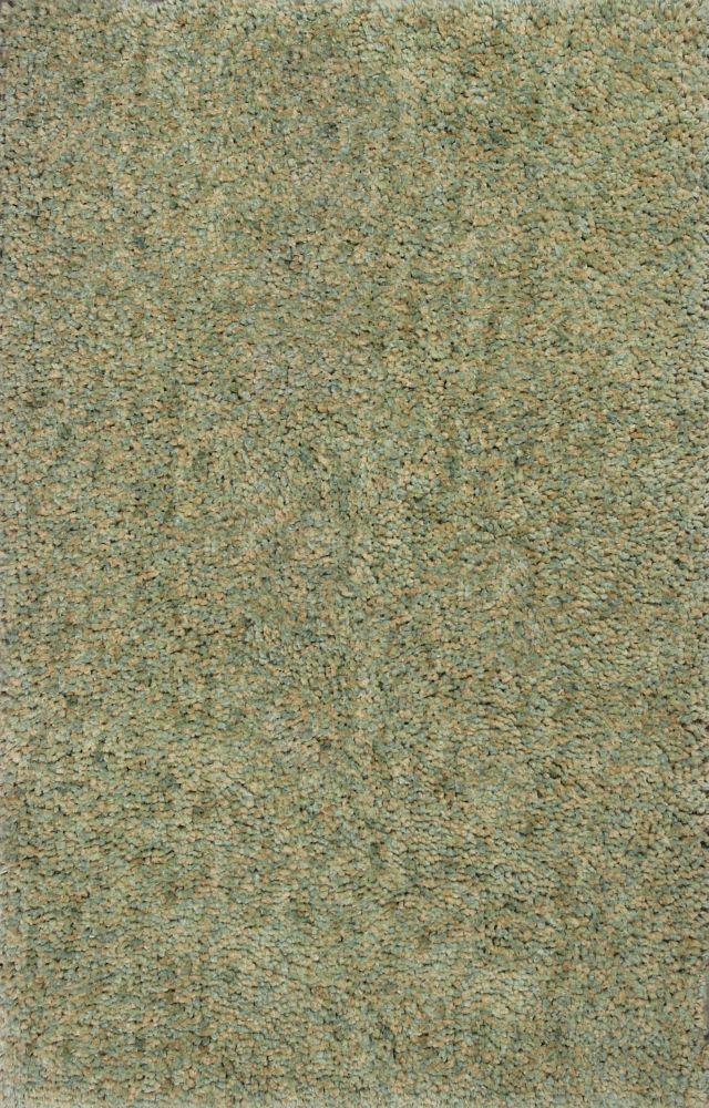 Shag Kas Rugs Urban Green Polyester 13374