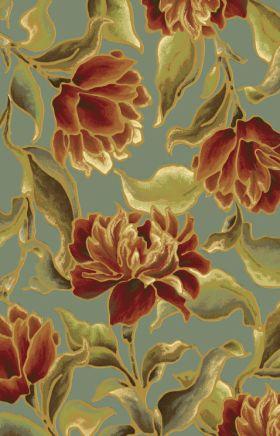 Kas Floral Rugs Versailles Green 13384