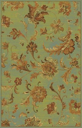 Kas Transitional Rugs Versailles Green 13388